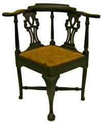 Rare 18th C American Massachusetts Queen Anne Maple Corner ...
