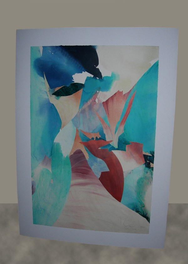 Rare Peter Kitchell Lithograph Flaming Desire 50 300