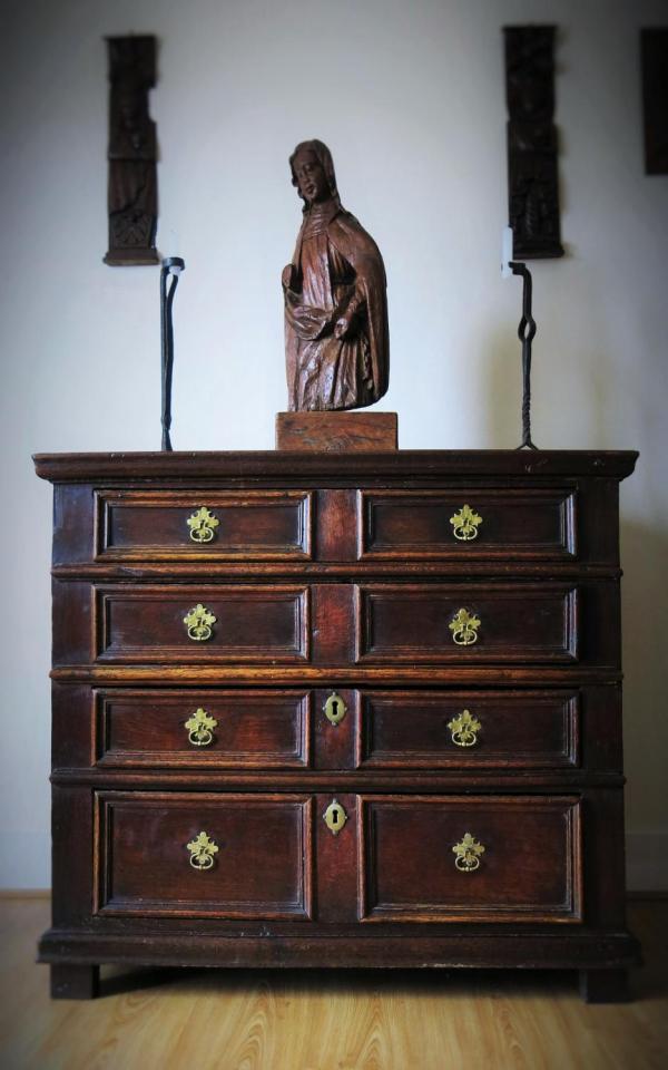 16th & 17th Century Period Oak Country English Furniture