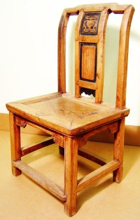 Antique Chinese Ming Children Chair (3126), Zelkova Wood ...