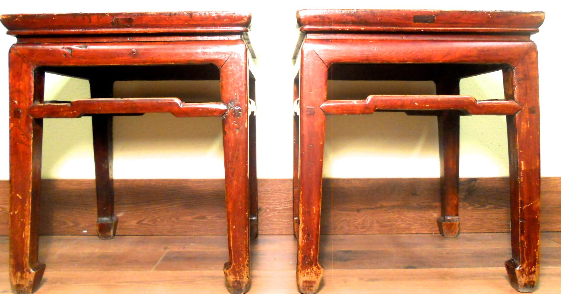 stool chair in chinese egg hanging antique ming meditation bench 3274 pair circa