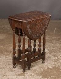 Antique English oak gate leg table For Sale   Antiques.com ...