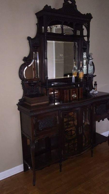 nautical kitchen hardware cute gadgets antique hutch/buffet for sale | antiques.com classifieds