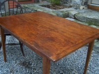 #8127 Country pumpkin pine hand made kitchen table For ...