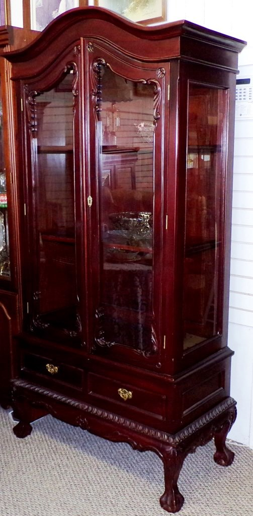 kitchen hutch cabinet island kits antique china cabinet, chippendale for sale | antiques.com ...