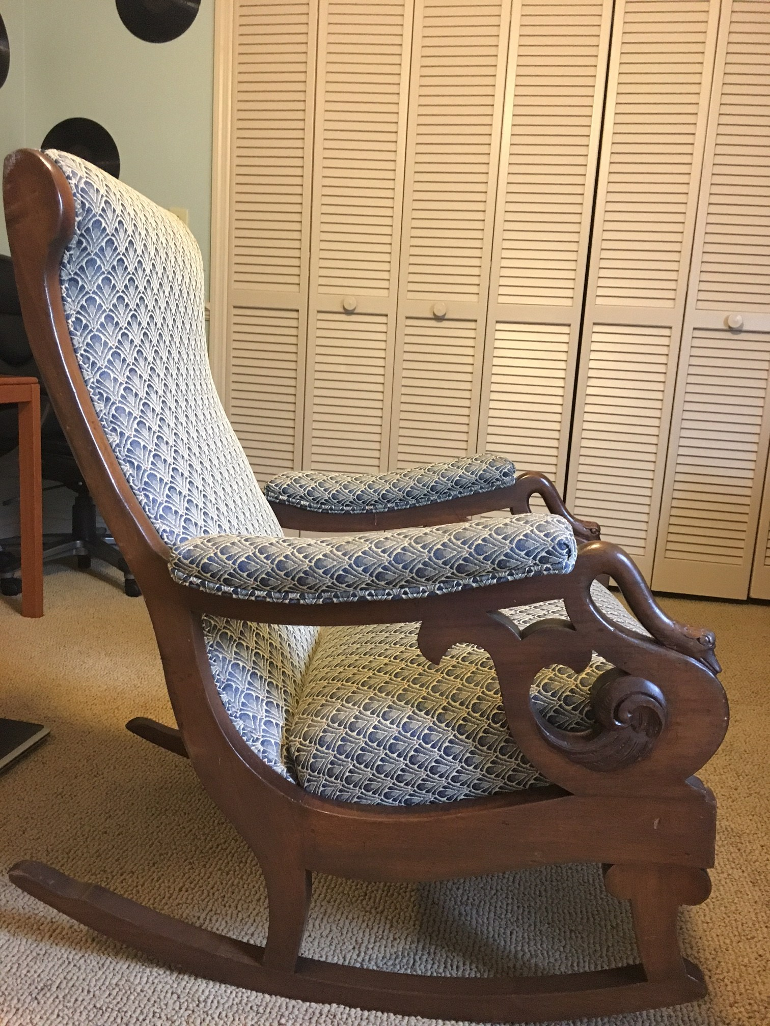 rocking chairs for sale windsor black gooseneck chair antiques classifieds