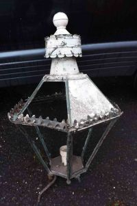 Large Street/wall Lamp Victorian For Sale