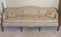 Antique Sheraton style mahogany sofa(s) For Sale