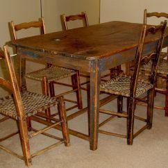Kitchen Table Sets For Sale Island Wood Primitive Set Canadian Pine Furniture