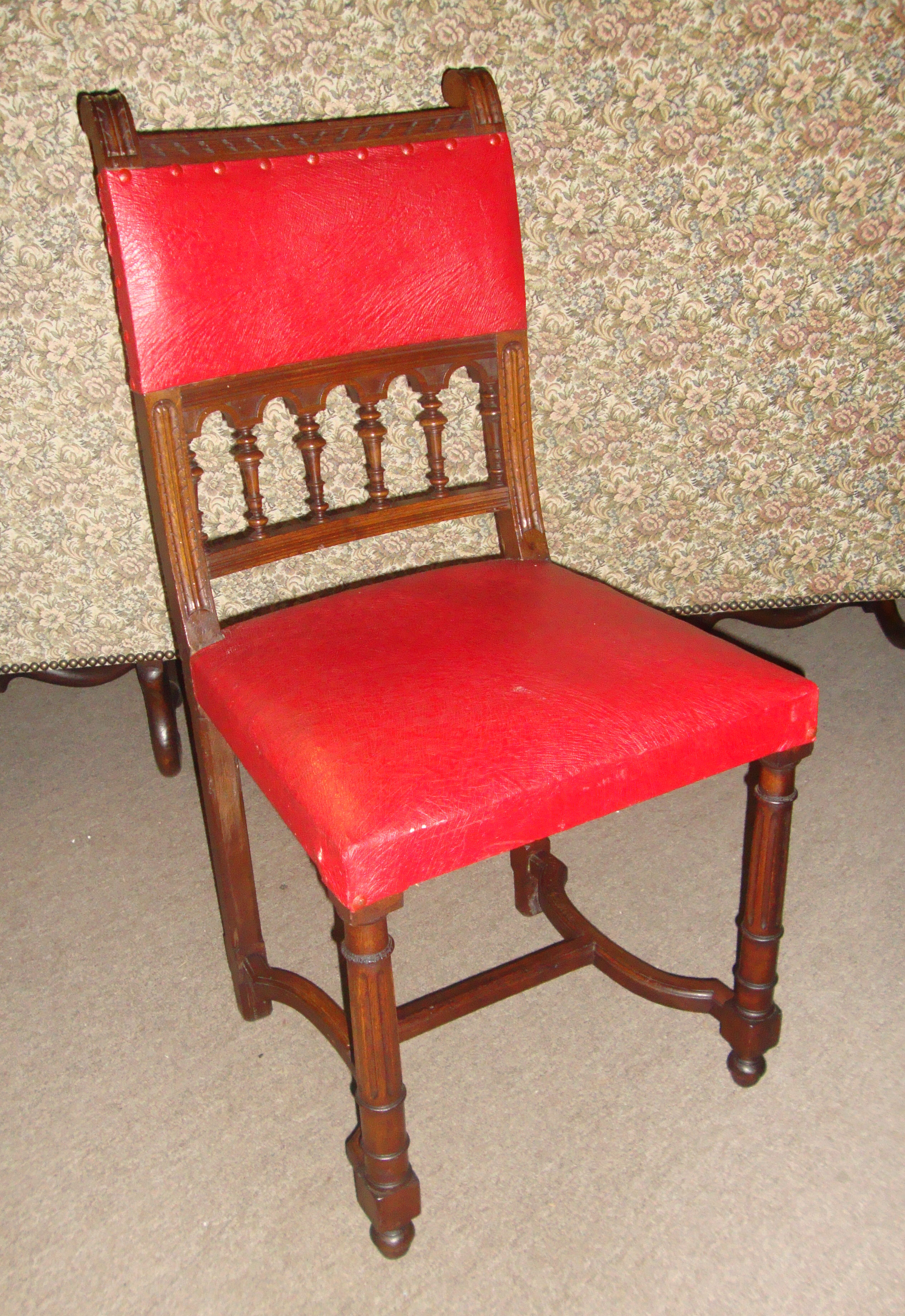 french antique chairs for sale step stool chair combination 19th century renaissance style oak