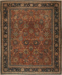 Antique Kerman Persian Rug 42465 For Sale | Antiques.com ...