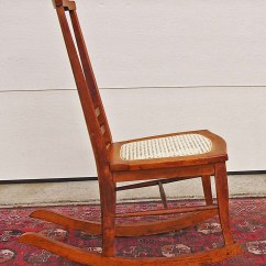 Rocking Chairs For Sale Short Beach T Back Birds Eye Maple Chair C 1900 1915