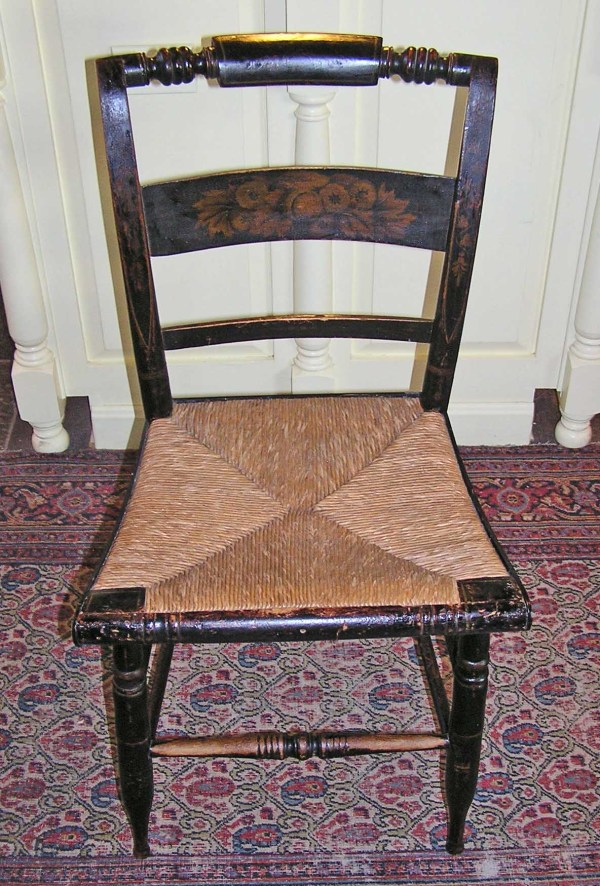 American Empire Hitchcock Chair . 1826-1843