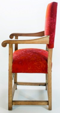 Pair of Celtic Inspired Throne Chairs For Sale