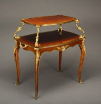 A 19th c. French Two Tier/ Pastry Table For Sale