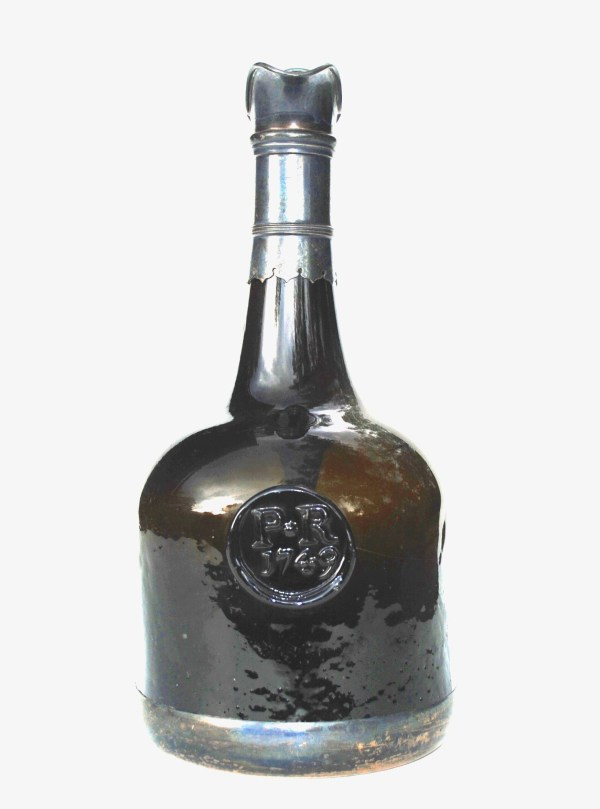 Antique Glass Wine Bottles