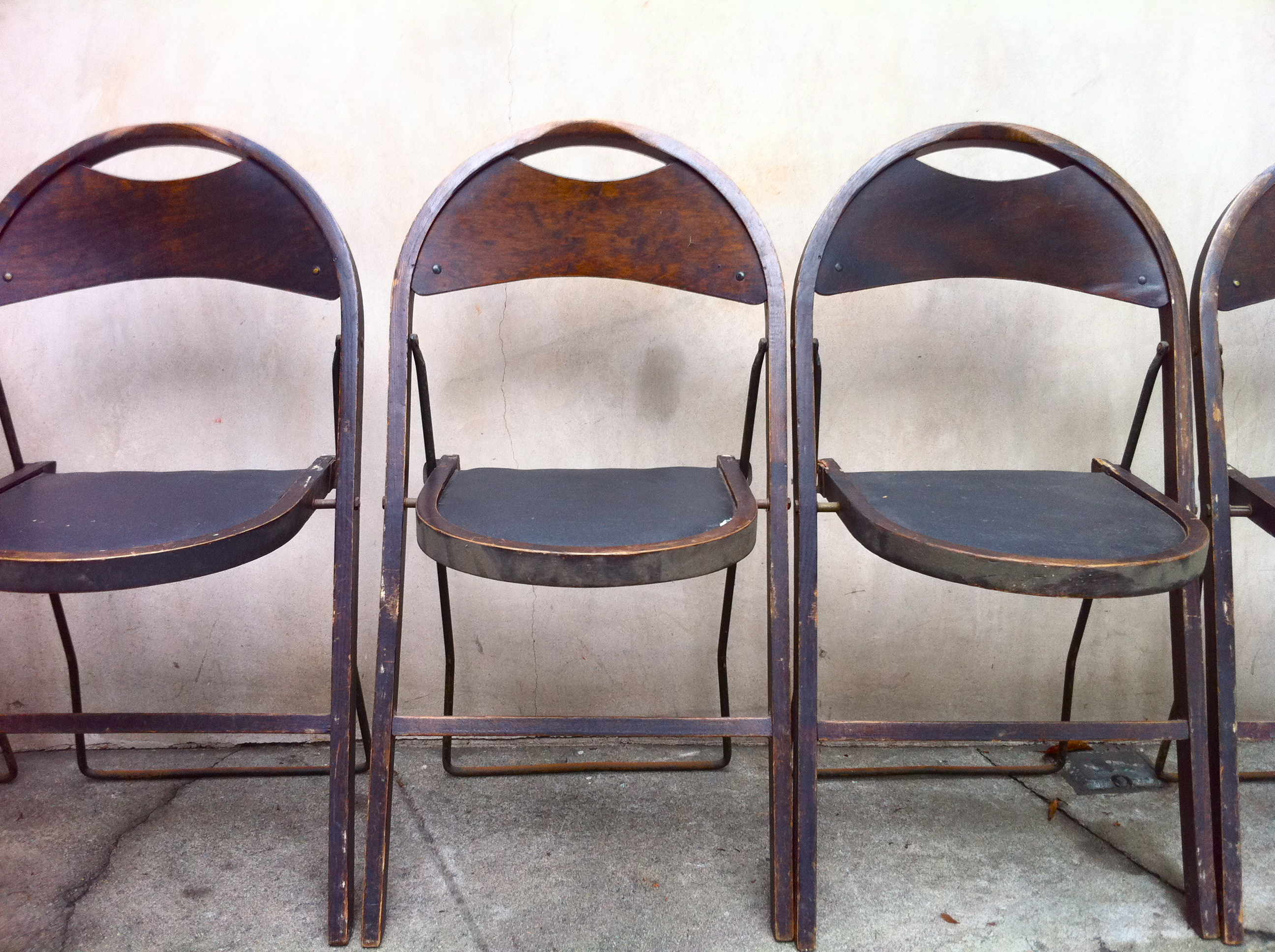 brown wooden folding chairs ergonomic chair prescription for sale antiques classifieds
