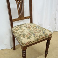 Dining Chairs For Sale Folding Lawn With Attached Side Table Six 19th Century Walnut Antiques