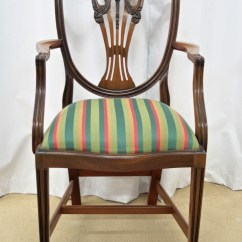 Dining Chairs For Sale Best Value Computer Chair Six Mahogany Shield Back Antiques