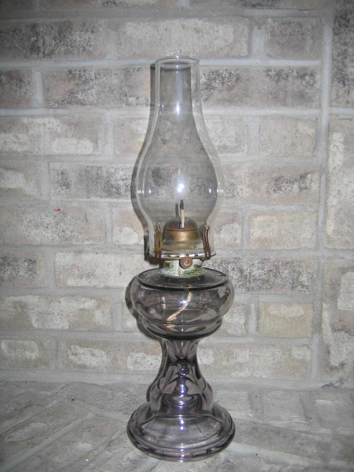 Antique Vintage Queen Anne No. 2 Light Purple Translucent
