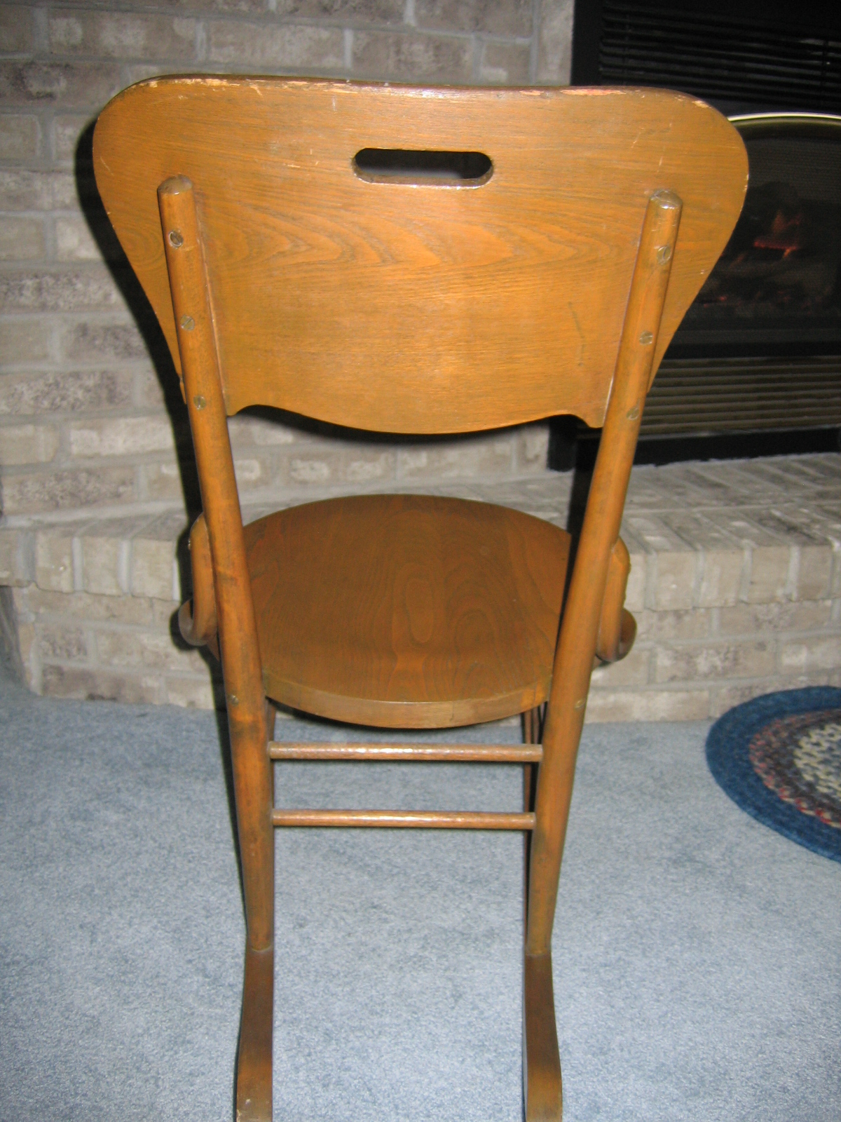 antique rocking chairs for sale chair leg caps vintage ladies knitting wood item 811