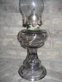 Antique Vintage Queen Anne No. 2 Light Purple Translucent ...