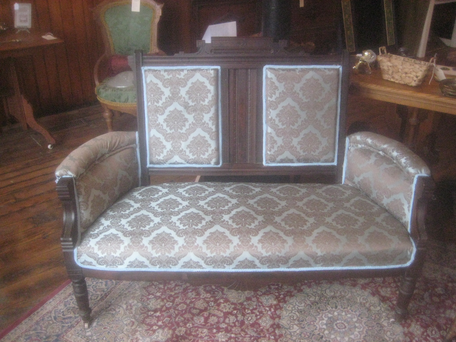 antique victorian sofas for sale armen living moulin sofa parlor settee new upholstery exceptional