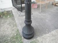 Vintage Cast Iron Lamp Post For Sale | Antiques.com ...