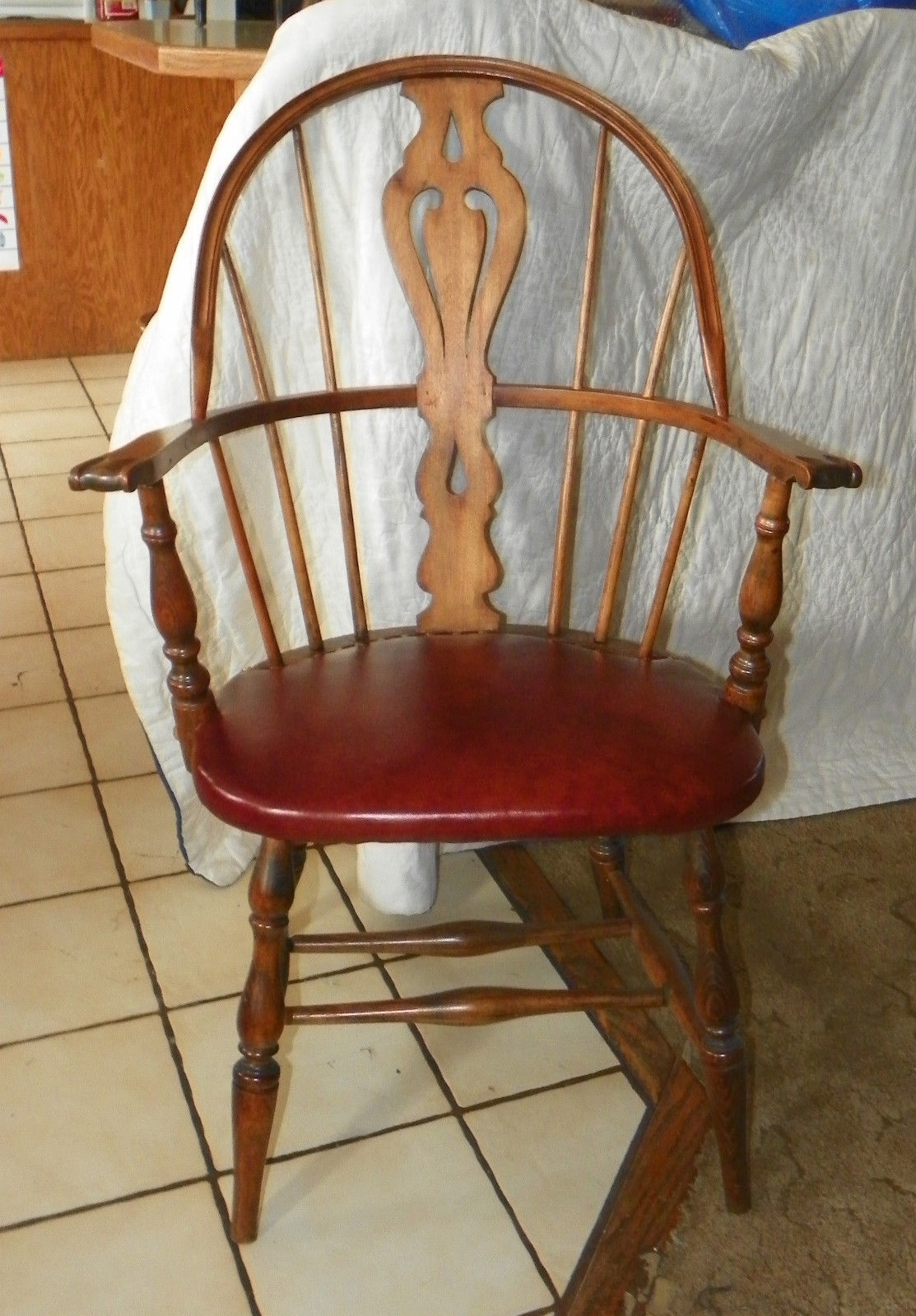 heywood wakefield chairs inexpensive outdoor oak and maple windsor armchair desk chair