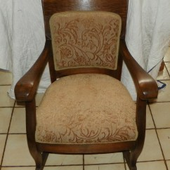 Antique Rocking Chairs For Sale Deck Chair Covers Nz Quartersawn Oak Empire Rocker R177