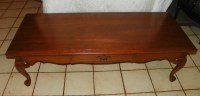 Solid Cherry Ethan Allen Coffee Table (CT73) For Sale ...