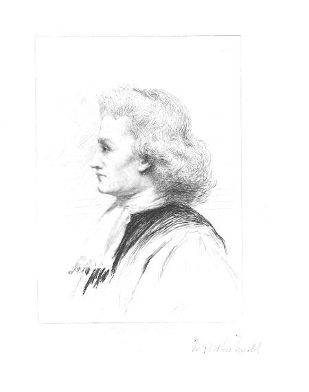 "William H. W. Bicknell ""Young Squire"" Pencil Signed"