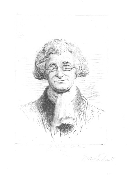 "William H. W. Bicknell ""Squire in Spectacles"" Pencil"