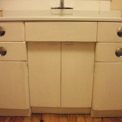 Metal Kitchen Cabinets For Sale Glass Cabinet Knobs And Porcelain Sink