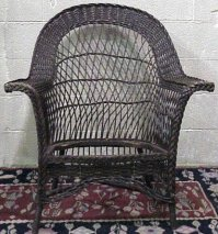 Antique Wicker Bar Harbor Chair Wakefield ? For Sale ...