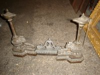 3 PIECE CHENETS [FIREPLACE ANDIRONS] For Sale | Antiques ...