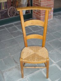 French antique prayer chair, late 1800''s For Sale ...