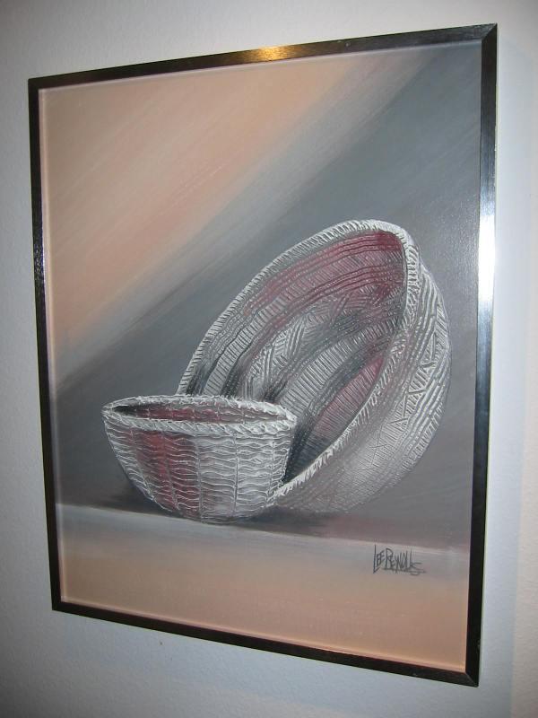 Lee Reynolds Modernist Abstract Signed Pop Art Giclee
