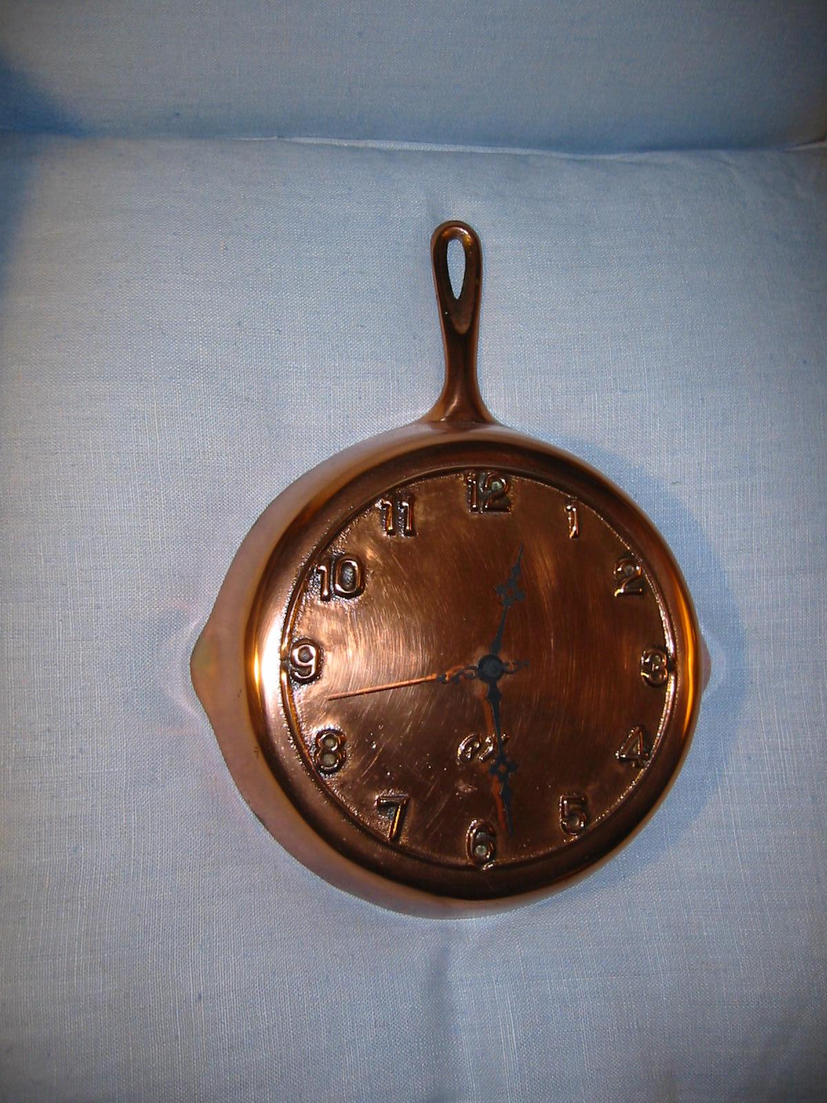 kitchen clocks for sale appliances package copper pan quartz wall clock marked bx
