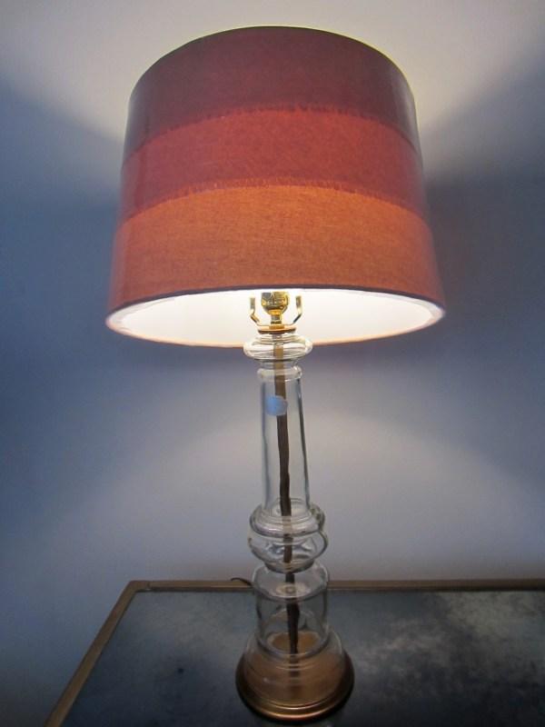 Hand Blown Glass Lamp Shade