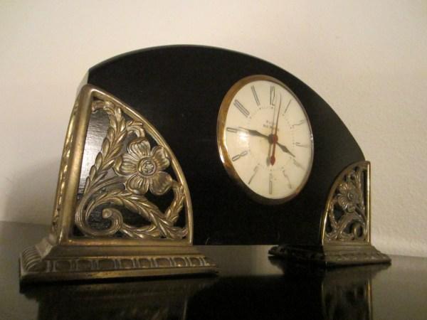 Antique Art Deco Mantle Clock