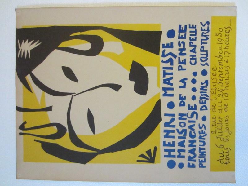 Henri Matisse Maison De La Pensee Mid Century Exhibition