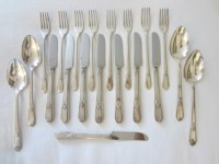 Silver Plated Flatware Adoration Rogers Bros IS 53 Pieces ...