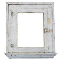 Salvaged Antique Bathroom Medicine Cabinet with Mirror ...