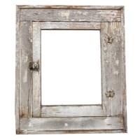 Antique Bathroom Medicine Cabinet with Beveled Mirror ...