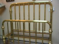 Early 1900''s Full size Brass Bed For Sale | Antiques.com ...