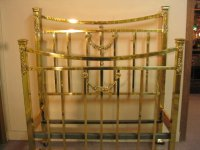 Brass Bed Twin Size Early 1900''s For Sale | Antiques.com ...