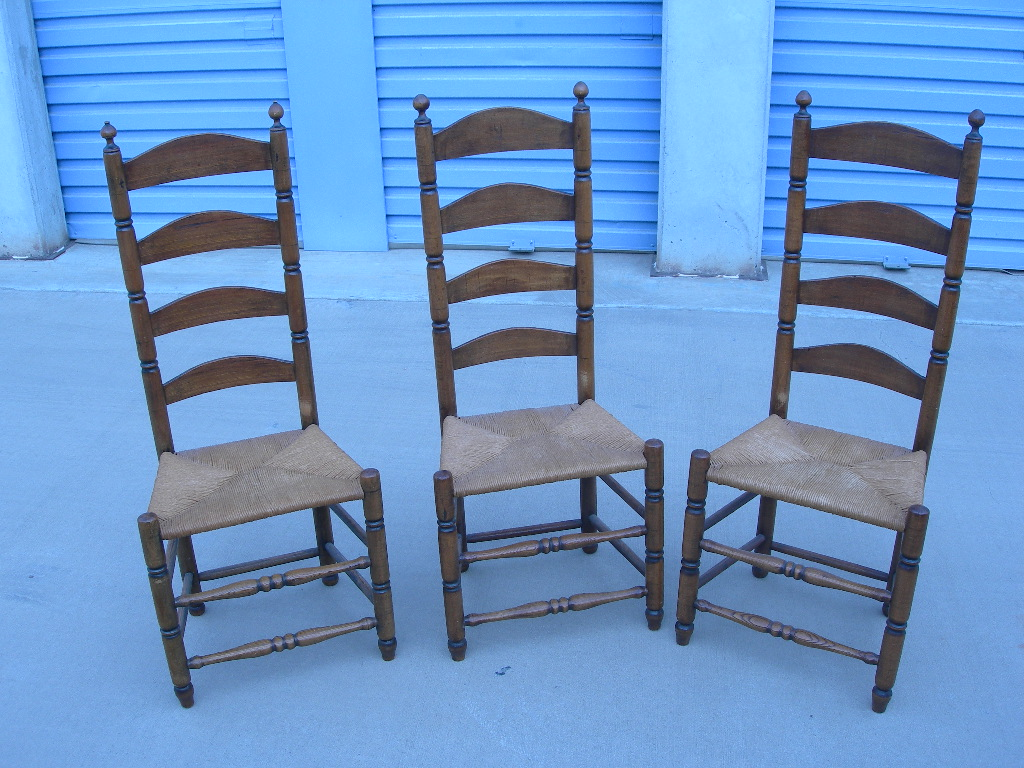 antique ladder back chairs value aeron chair adjust lumbar support french for sale antiques