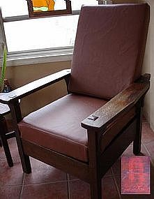 morris chairs for sale card table and set target gustav stickley chair antiques com classifieds