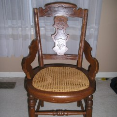 Antique Cane Chairs Kids Indoor Table And Eastlake Parlor Chair Set For Sale Antiques